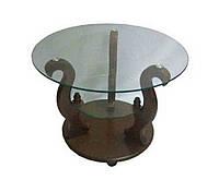 Журнальный стеклянный столик Версаль