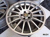 Оригинальные Диски R17 Alfa Romeo 5x98 8Jx17H2 ET35 AS 807585