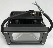 Светодиодный прожектор SL-10 10W желтый IP65 Код.59058, фото 3