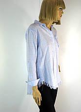 Жіноча сорочка в клітинку , фото 2