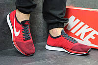 Мужские кроссовки Nike Flyknit Racer Red [копия]