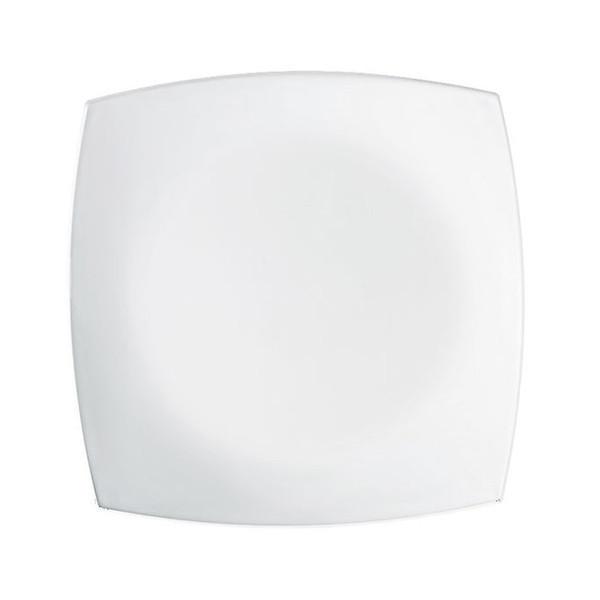 Quadrato White Тарелка обеденная квадратная 26 см Luminarc J0592