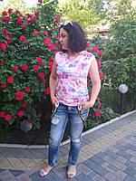 "Блузка ""Ивета"" ZANNA BREND 2007 розовый, фото 1"