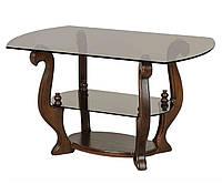Журнальный столик из стекла Орион
