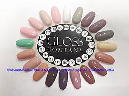 Палитра  Gloss 100-119