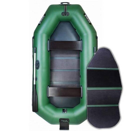 Надувная лодка Ладья ЛТ-290ВТЕ; 3-х местная. Моторно-Гребная;