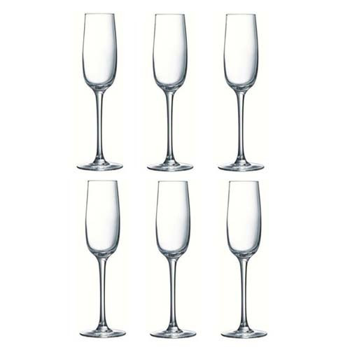 Allegresse Набор бокалов для шампанского 175 мл - 6 шт Luminarc J8162