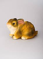 """Фигура садовая """"Кролик"""" 10см., гипс"""