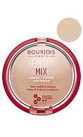 Bourjois - Пудра Компактная - Healthy Mix Powder - 01 - vanille