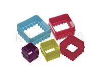 CW Набор формочек для печенья Квадратики 5 единиц в коробке