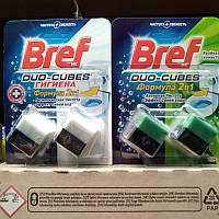 Чистящие кубики Бреф Актив для унитаза (2х50 грамм)
