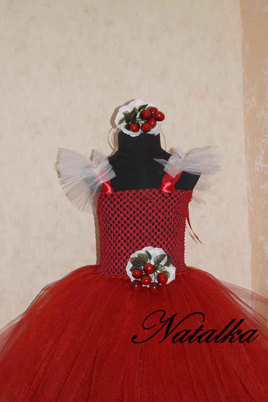 """Карнавальна сукня-спідниця з фатину """"ВИШЕНЬКА"""""""