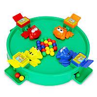 Новинки Игрушки Сумасшедшая лягушка Ешьте фасоль для шара с бисером, кормящим детей