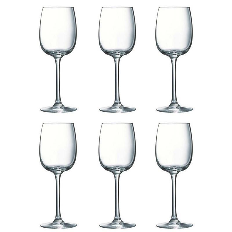 Allegresse Набор бокалов для вина 300 мл - 6 шт Luminarc J8164