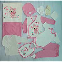 Комплект для новорожденного 10 предметов 003251