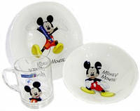Disney Mickey Colors Набор для детей - 3 пр Luminarc L2124