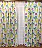 """Шторный набор """"Бабочки"""", декорат. шторы + тюль"""