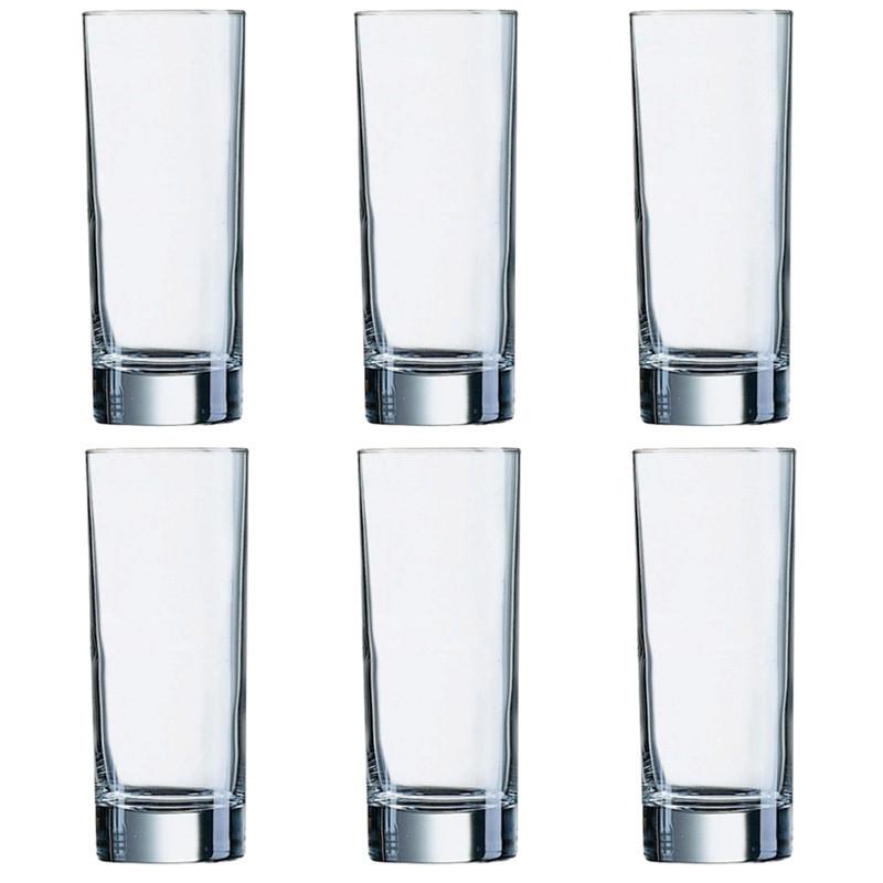 Islande Набор стаканов высоких 330 мл - 6 шт Luminarc J0040