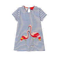 Платье для девочки Flamingo