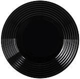 Harena Black Тарелка обеденная 25 см Luminarc L7611, фото 3