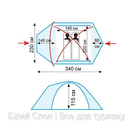 Намет двомісний Tramp Lair 2 V2  продажа aed57b1d27fa8