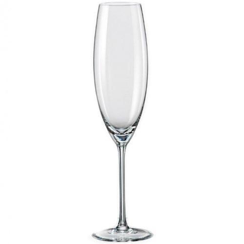 Grandioso набор бокалов для шампанского 230 мл.-2 шт  Bohemia 40783/230
