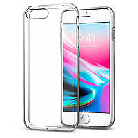 Чехол Spigen для iPhone 8 Plus / 7 Plus Liquid Crystal, Crystal Clear (055CS22233), фото 1