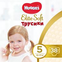 Трусики - подгузники Huggies Elite Soft 5 (12-17 кг), 38 шт.