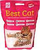 Наполнитель Бест Кет Best Cat силикагелевый для кошачьего туалета цветы 7,2 л (2,5 кг)