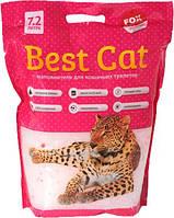 Бест Кет Best Cat силикагелевый наполнитель для кошачьего туалета цветы 7,2 л (2,5 кг)