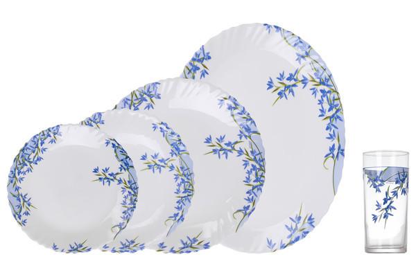 Aliya Blue Сервиз столовый - 19+6 пр. Arcopal L5296