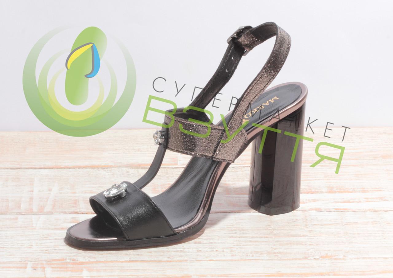 cc40f9de1696a0 Босоножки кожаные женские Marko Rossi 902 37-38 размеры: продажа ...