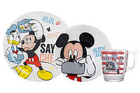 Disney Party Mickey Набор для детей - 3 пр Luminarc N5278