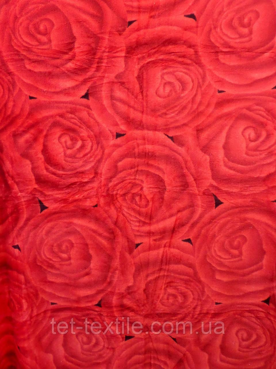 """Плед из микрофибры Elway """"Розы"""" (160х210)"""