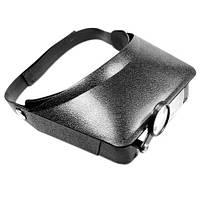Бинокулярные очки (бинокуляры) MG81006 / 3 стекла (2+1) 4,8x max.