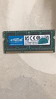 Память Crucial 8Gb So-DIMM  PC3L-12800S  DDR3-1600 1.35v (ct102464f160b)