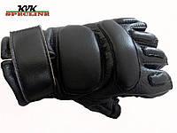 Тактические перчатки Tactical беспалые черные, фото 1