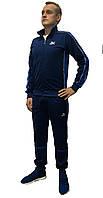 Молодёжный эластиковвй спортивный костюм Puma с штанами на манжете (Реплика)