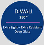 Diwali Блюдо глубокое жаропрочное круглое 22 см Luminarc N3273, фото 7