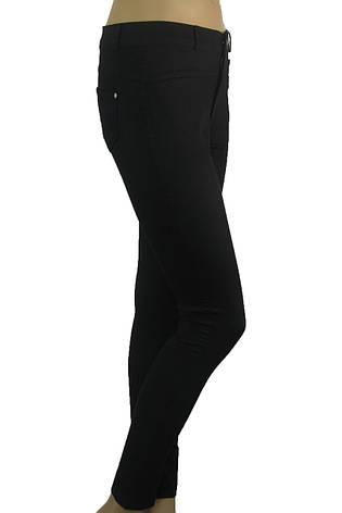 Жіночі літні чорні джинси скіні , фото 2