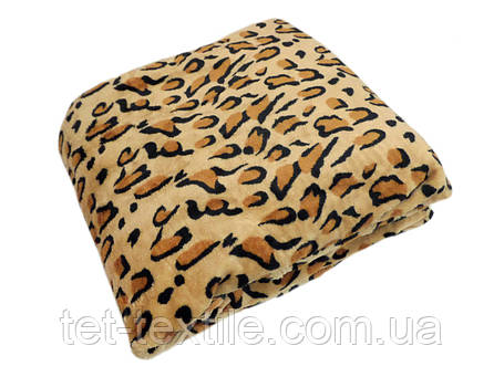 """Плед из микрофибры Elway """"Шкура леопарда"""" (160х210), фото 2"""