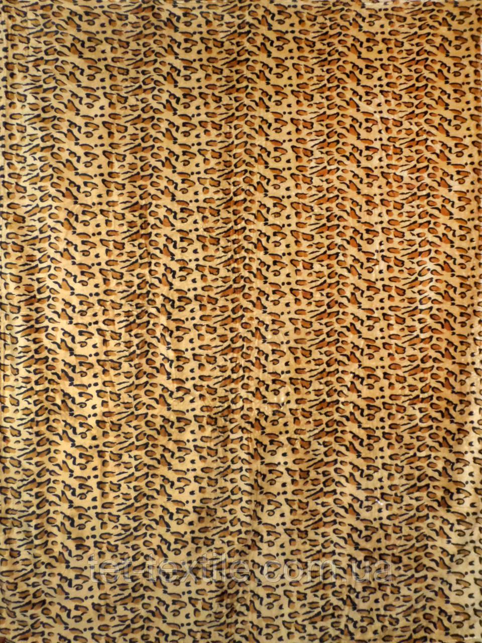 """Плед из микрофибры Elway """"Шкура леопарда"""" (160х210)"""