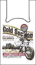 """Пакет майка """"Золотое сечение"""" 29х46см 16кг """"Мотоцикл"""" (250 шт.)"""