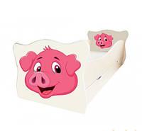 """Детская кровать """"Хрюша"""""""