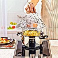 Складная решетка для приготовления Magic Kitchen Хит продаж!