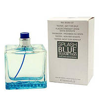 100 мл Тестер Splash Blue Seduction for Men Antonio Banderas EDT для мужчин
