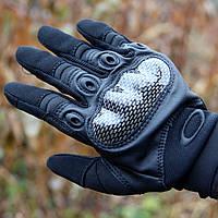 Тактические перчатки Oakley с кастетом, фото 1