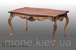 Красивый  стол с резьбой №2