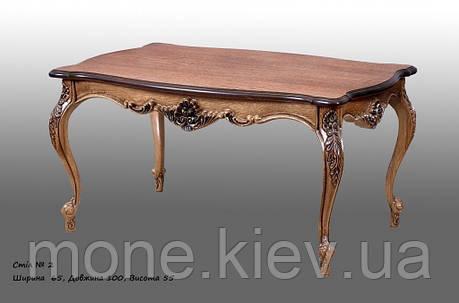 Красивый  стол с резьбой №2, фото 2