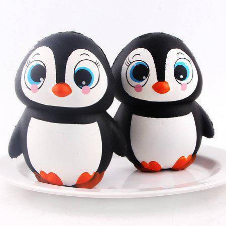 Антистресс-игрушка Сквиши Пингвин 14*10см